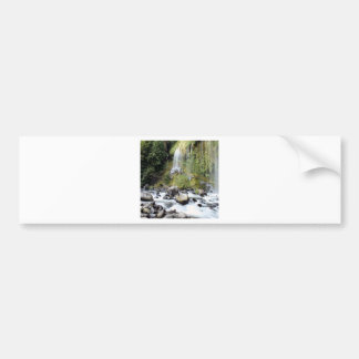 Waterfall Mossbrae Falls Stream Bumper Sticker