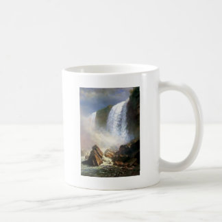 Waterfall Nature painting Coffee Mug