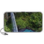 Waterfall Nature Park Blue Water Forest Destiny iPod Speakers