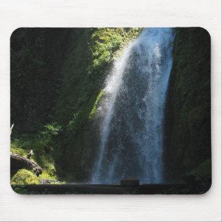 Waterfall Near Columbia River Mousepad