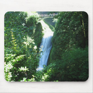 Waterfall Near Columbia River Mouse Pads