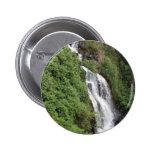 Waterfall Near Hilo, Hawaii Buttons