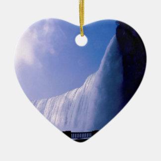 Waterfall Niagara Falls Christmas Tree Ornaments