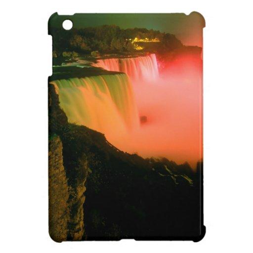 Waterfall Niagaraat Night iPad Mini Case