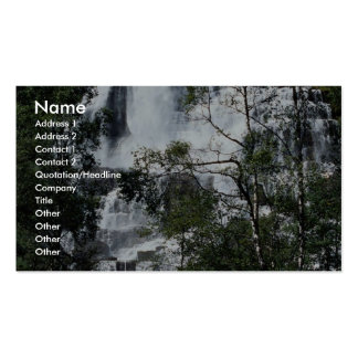 Waterfall, Norway Business Card