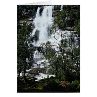 Waterfall, Norway Card