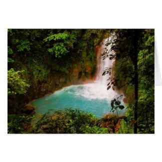 Waterfall Notecard