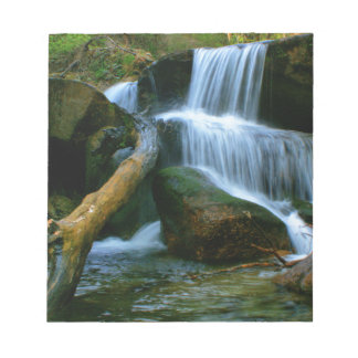 Waterfall of Queimadela Note Pad