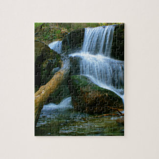 Waterfall of Queimadela Puzzle