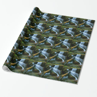 Waterfall of Queimadela Wrapping Paper