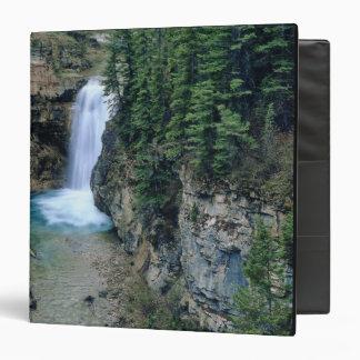 Waterfall on Falls Creek in Lewis and Clark 3 Ring Binders