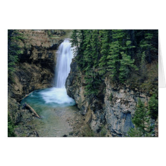 Waterfall on Falls Creek in Lewis and Clark Card