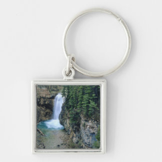Waterfall on Falls Creek in Lewis and Clark Keychain