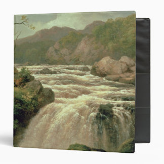 Waterfall on River Neath, South Wales Binder