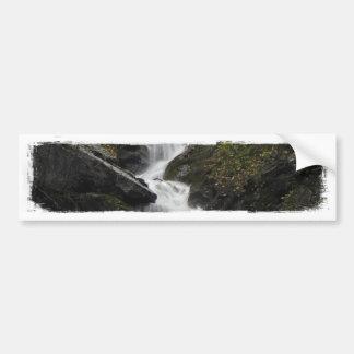 Waterfall on the Rocks Bumper Sticker