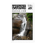 Waterfall over Rocks Postage