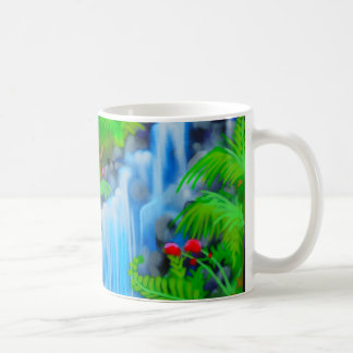 Waterfall Painting Coffee Mug