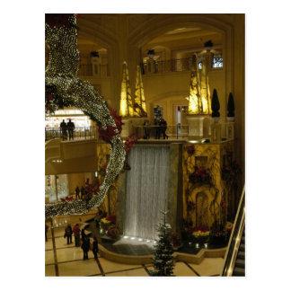 Waterfall Palazzo Postcard