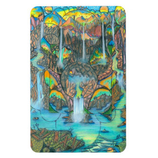Waterfall Paradise Magnet