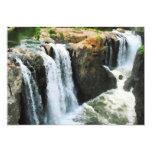 """Waterfall Paterson NJ 5"""" X 7"""" Invitation Card"""