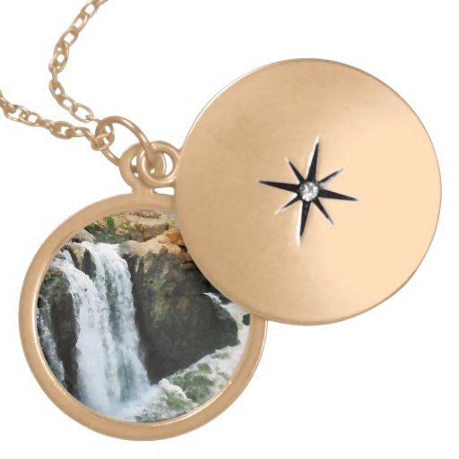 Waterfall Paterson NJ Personalized Necklace