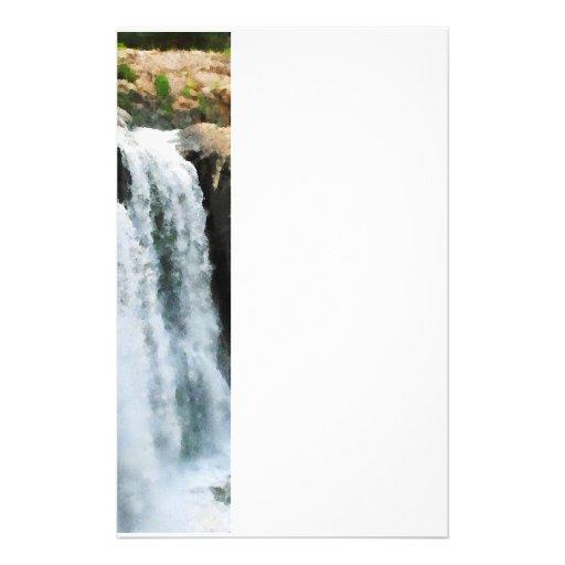 Waterfall Paterson NJ Stationery