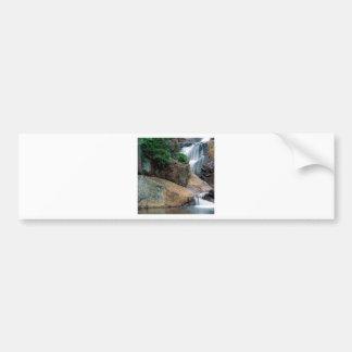 Waterfall Peaceful Colorado Bumper Sticker