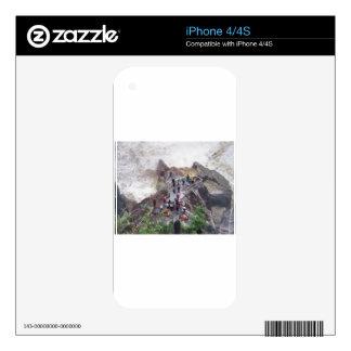 Waterfall peak iPhone 4 decal