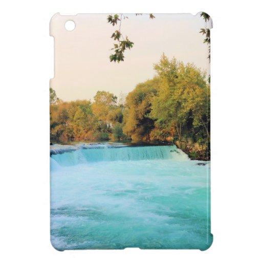 Waterfall photo iPad mini covers