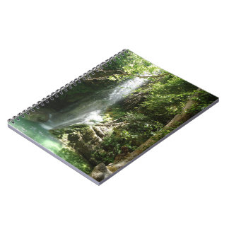 Waterfall Photo Notebook (80 Pages B&W)