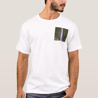 Waterfall photo t-shirt