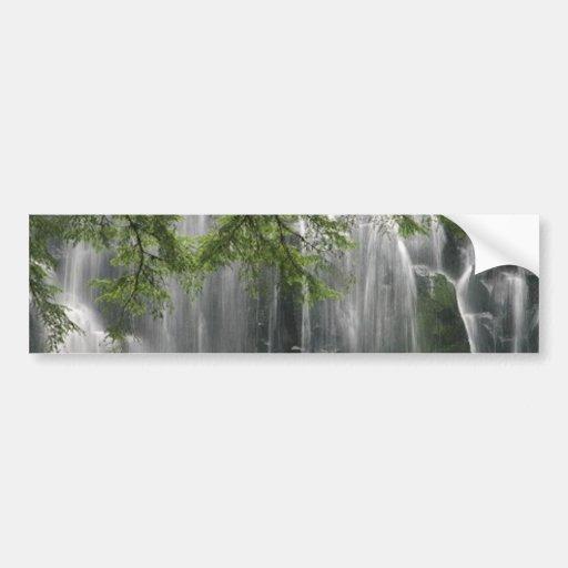 waterfall_photography_(5) car bumper sticker