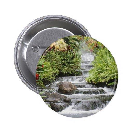 Waterfall Pinback Button