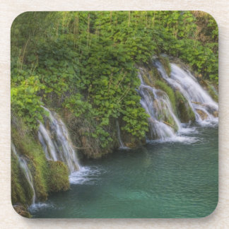 Waterfall, Plitvice Lakes National Park and Drink Coaster