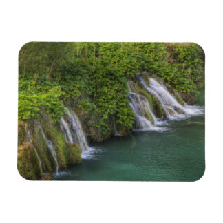 Waterfall, Plitvice Lakes National Park and Rectangular Photo Magnet