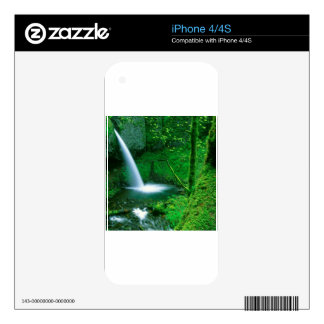 Waterfall Ponytail Columbia Gorge Skins For iPhone 4