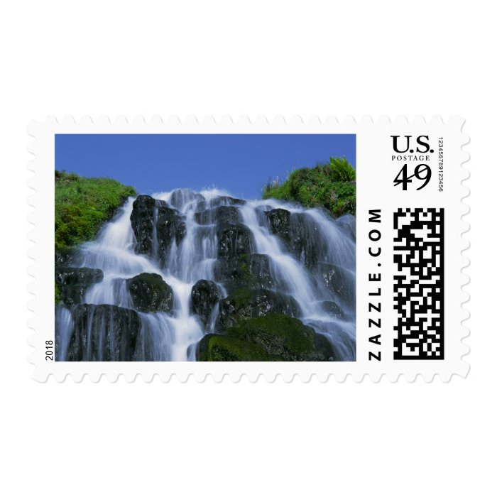 Waterfall, Portree, Isle of Skye, Highlands, Postage