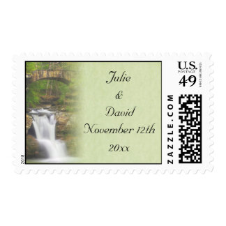 Waterfall Postage Stamp