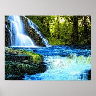 waterfall póster