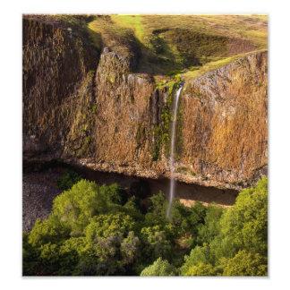 Waterfall Print: Phantom Falls in Chico CA Art Photo