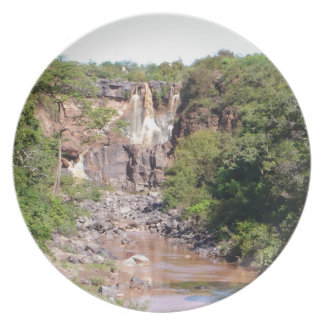 Waterfall Product Dinner Plate
