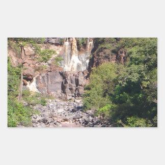 Waterfall Product Rectangular Sticker