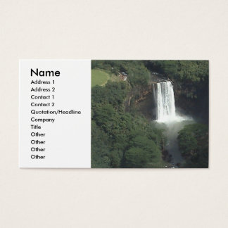 Waterfall Profile Card