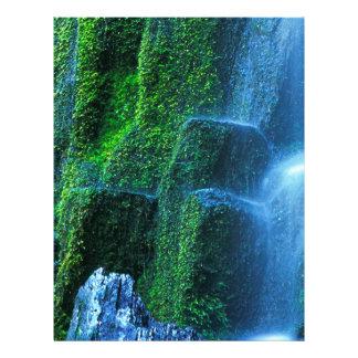Waterfall Proxy Willamette Flow Custom Letterhead