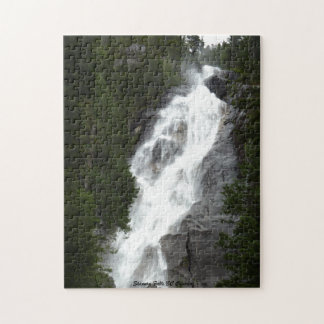 Waterfall Puzzle Shannon Falls BC Nature Puzzle