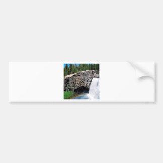 Waterfall Rainbow Falls Bumper Sticker