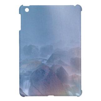 Waterfall Rock Soup Mt Rainier Park Cover For The iPad Mini