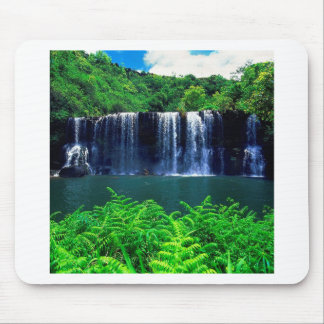 Waterfall Secluded Kauai Mouse Pads