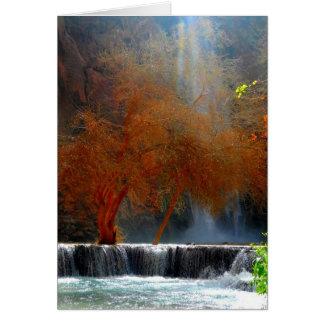 Waterfall Serenity Card