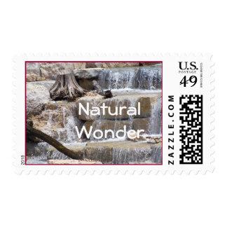 Waterfall Stamp-customize